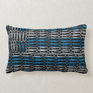 Greek Flag of Paperclips Pillows