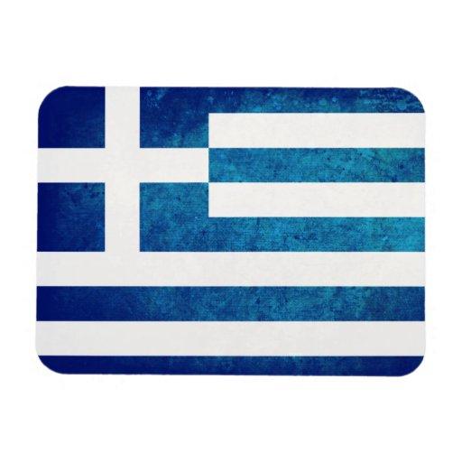 Greek Flag Rectangular Magnets