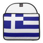 Greek Flag Sleeves For MacBook Pro