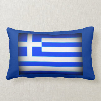 Greek Flag Socrates Quote Pillow