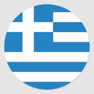 greek flag stickers zazzle