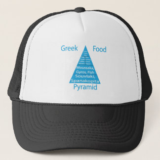 Greek Food Pyramid Trucker Hat