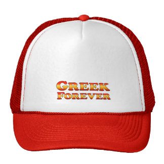 Greek Forever - Clothes Only Hat