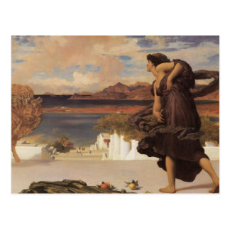 Greek Girls Playing Ball Postcard