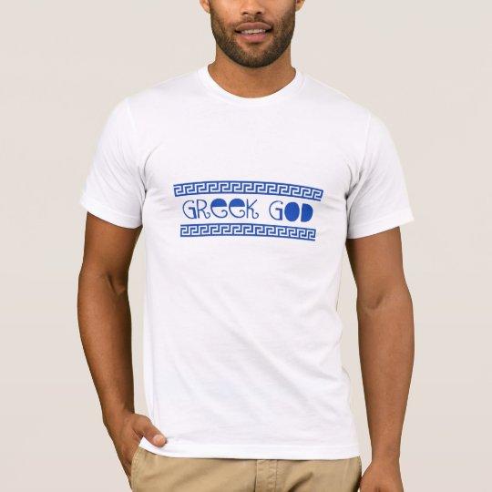 GREEK GOD GREEK KEY T-Shirt