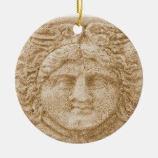 Greek God HERMES Ceramic Ornament