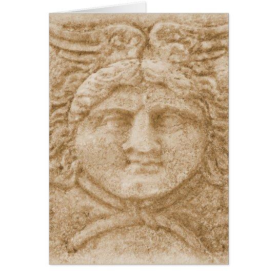 Greek God Hermes PICTURE  ancient image of Hermes Card