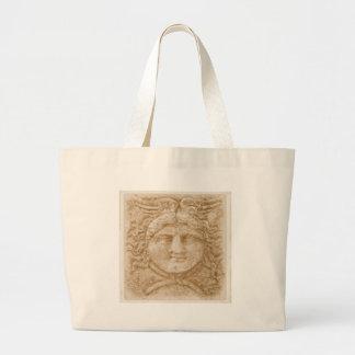 Greek God Hermes PICTURE  ancient image of Hermes Large Tote Bag