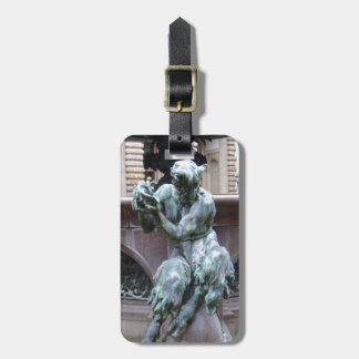Greek God Pan Bag Tag