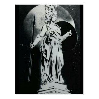 Greek God Postcard