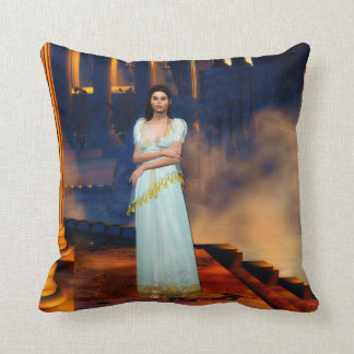 Greek Goddess Athena Cushion