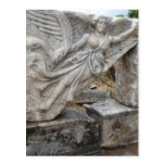 Greek Goddess Nike at Ephesus, Turkey Post Card