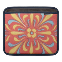 Greek Greco-Roman Pattern Colorful Art Floral Deco Sleeve For iPads