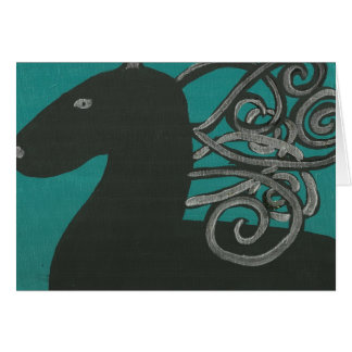 Greek Horse Card