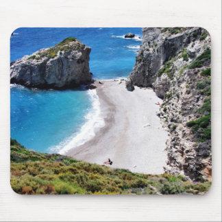 greek island mouse pad