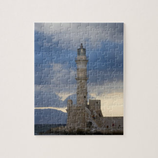 Greek Island of Crete and old town of Chania 2 Jigsaw Puzzle