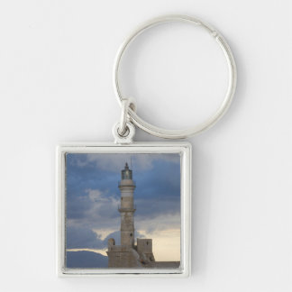 Greek Island of Crete and old town of Chania 2 Keychain