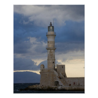 Greek Island of Crete and old town of Chania 2 Print