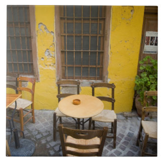Greek Island of Crete and old town of Chania 3 Ceramic Tile