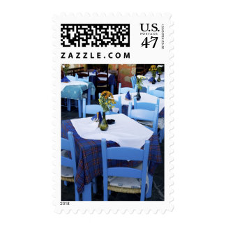 Greek Island of Crete and old town of Chania Postage