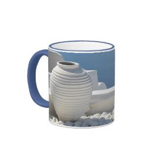 Greek Island Urn Photo Mug