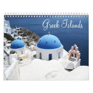 Greek islands  Calendar