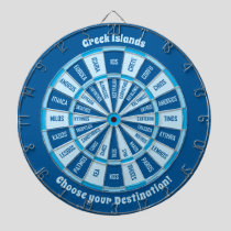 Greek Islands Dartboard