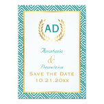 Greek key and laurel wreath request 1 card