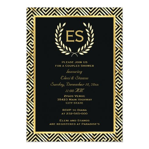 Wedding Invitation Wording: Greek Wedding Invitation Templates