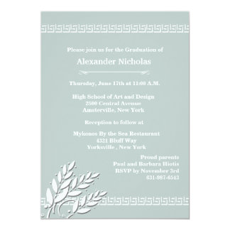 Greek Key Borders (Choose Your Color) Invitation