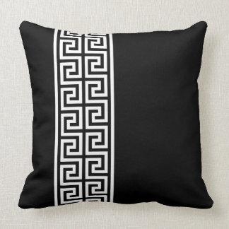 Greek Key Design Pillow
