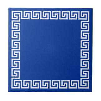 Greek Key Ceramic Tiles   Zazzle