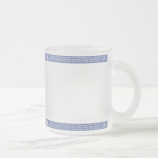 Greek Key Frosty Mug
