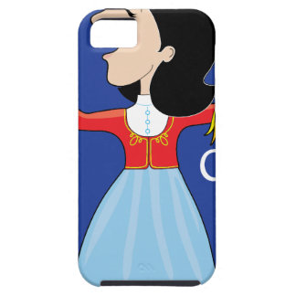 Greek Lady Dancing iPhone 5 Covers