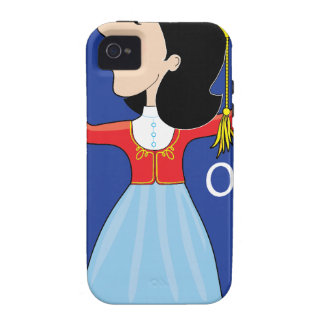 Greek Lady Dancing Vibe iPhone 4 Covers