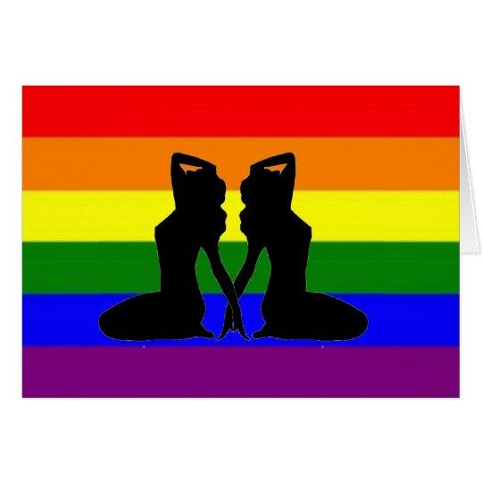 Greek Lesbian Pride Card