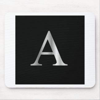 Greek Letter- Alpha Mouse Pad