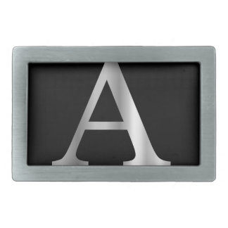Greek Letter- Alpha Rectangular Belt Buckle