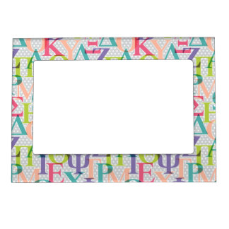 Greek Letter Sorority Magnetic Frame