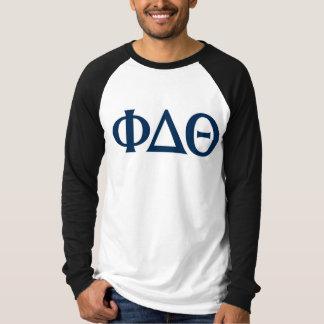 Greek Letters - Blue T-Shirt