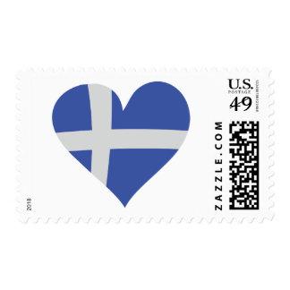Greek Love Heart Postage