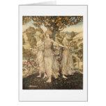 Greek Maidens Greeting Card