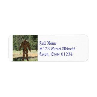 Greek Minotaur Label