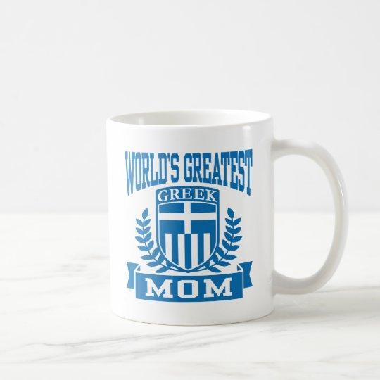 Greek Mom Coffee Mug