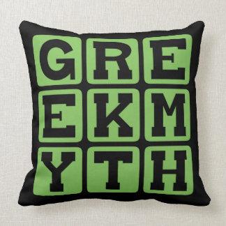 Greek Myth Mythology of Ancient Greece Throw Pillows