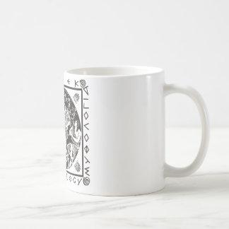 Greek Mythology - Black Coffee Mug
