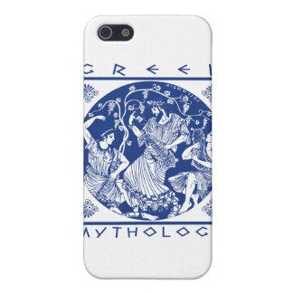 Greek Mythology - Blue iPhone SE/5/5s Cover