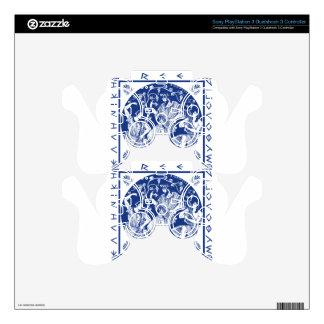 Greek Mythology - Blue PS3 Controller Decals