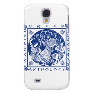 Greek Mythology - Blue Samsung Galaxy S4 Case