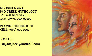 Phd business cards zazzle greek mythology gods networking business cards colourmoves